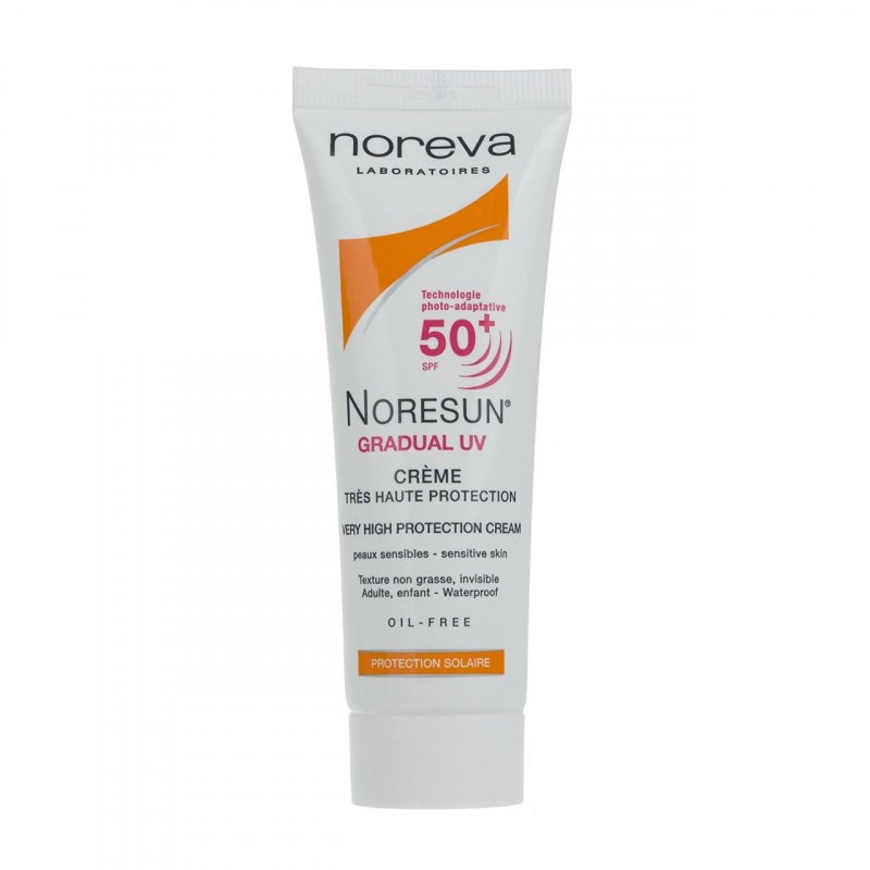 Noreva Noresun Gradual UV Sunscreen Cream SPF50 40ml