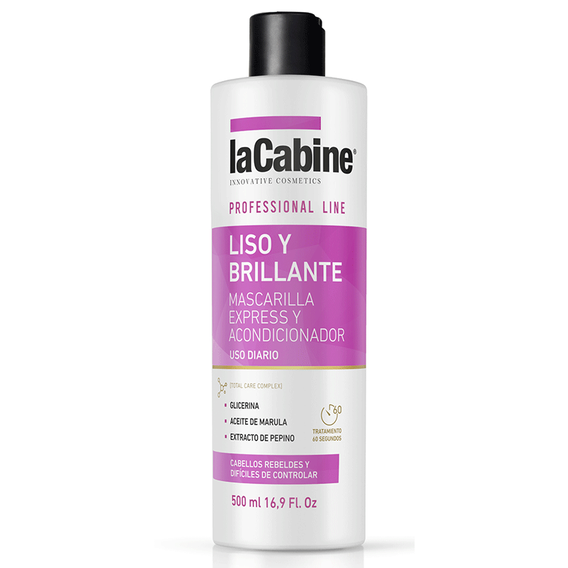 La Cabine Straight and Silky Hair Mask 500ml