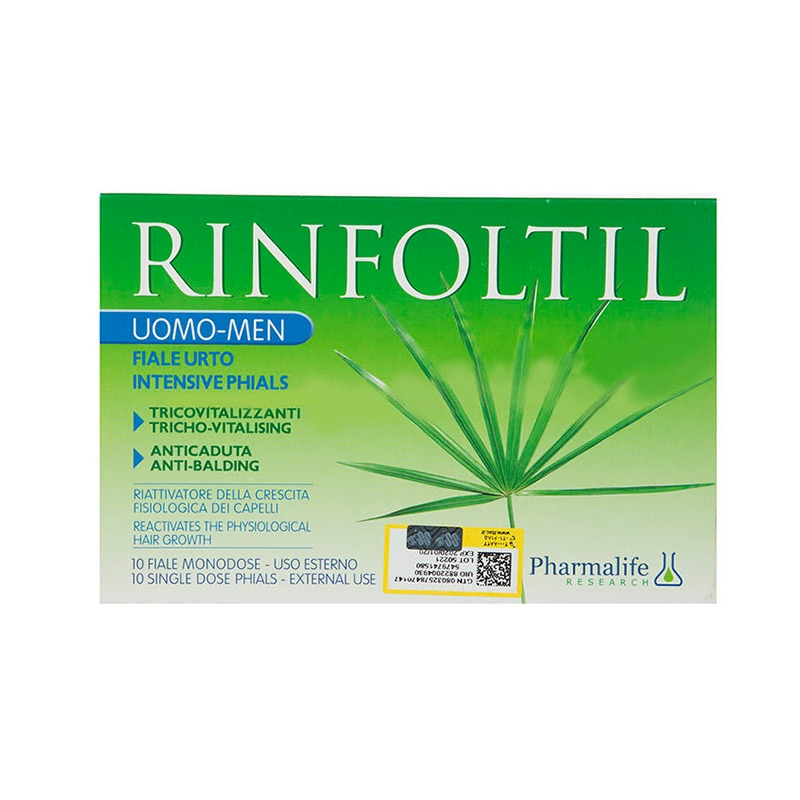 Farmalife Rinfoltil Intensive Phials Anti-Balding Serum For Men