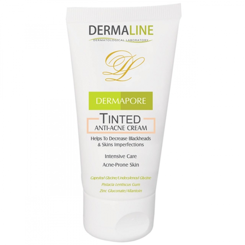 Dermaline Dermapore Tinted Anti Acne Cream 45ml